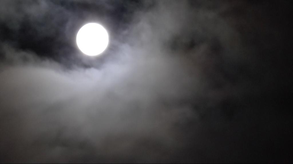 Aart Rudolphy, maan 7, 2013 HD video projection, color, loop